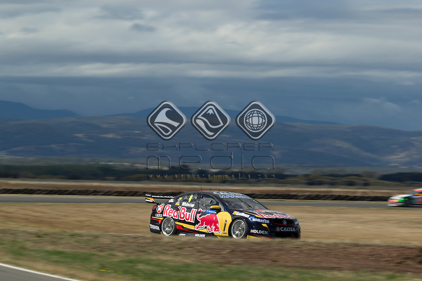 Jamie Whincup of Red Bull Racing Australia during the TYREPOWER TASMANIA 400, Event 02 of the 2014 Australian V8 Supercars Championship Series at the Symmons Plains Raceway, Launceston, Tasmania, March 28, 2014.<br /> <br /> <br /> <br /> <br /> &copy; Sport the library / Mark Horsburgh<br /> &copy; Sport the library / Mark Horsburgh