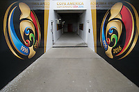 Orlando, FL - Monday June 06, 2016: The interior of Camping World Stadium prior to a Copa America Centenario Group D match between Panama (PAN) and Bolivia (BOL) at Camping World Stadium.