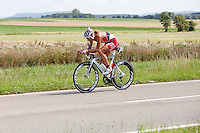 Chrissie Wellington on the bike course of the Challenge Roth Ironman Triathlon, Roth, Germany, 10 July 2011