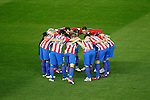 Atletico de Madrid's players during La Liga match. November 19,2016. (ALTERPHOTOS/Acero)
