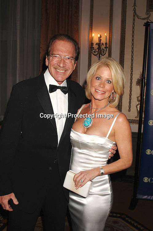 Pat O'Brien and fiancee Betsy Stephens..posing at The IRTS Gold Medal Award Gala honoring recipient and syndication legend Roger King on May 10, 2007 at The Waldorf Astoria Hotel in New York City...Robin Platzer, Twin Images......212-935-0770