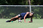 CARY, NC - JUNE 01: Jessica McDonald. The North Carolina Courage held a training session on June 1, 2017, at WakeMed Soccer Park Field 7 in Cary, NC.