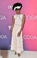 LOS ANGELES, CA. February 19, 2019: Danai Gurira at the 2019 Costume Designers Guild Awards at the Beverly Hilton Hotel.<br /> Picture: Paul Smith/Featureflash