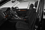 Front seat view of a 2018 Audi Q5 Design 5 Door SUV front seat car photos