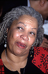 """Toni Morrison attending The """"BELOVED"""" Movie Premiere on October 8, 1998 at the Ziegfield Theatre, New York City."""