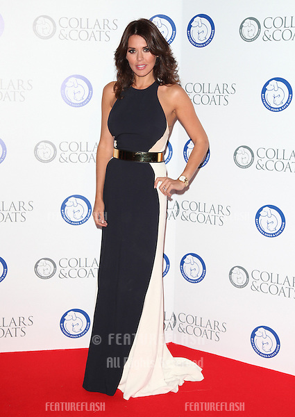 Danielle Lineker arriving for the Collars And Coats Ball, at Battersea Evolution, London. 08/11/2012 Picture by: Alexandra Glen / Featureflash