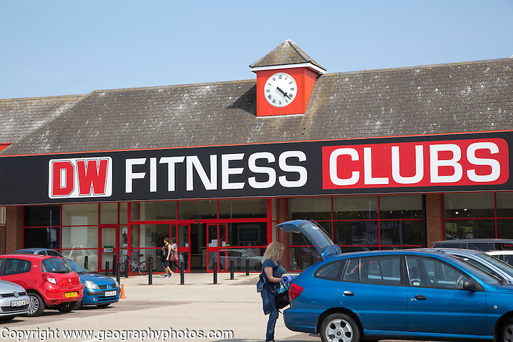 DW Fitness Clubs gym building in central Ipswich, Suffolk, England, UK