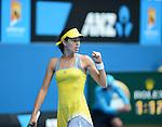 Ana Ivanovic (SRB) Defeats Jelena jankovic (SRB) 7-5, 6-3
