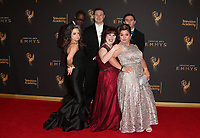 LOS ANGELES, CA - SEPTEMBER 09: Born This Way, Cast at the 2017 Creative Arts Emmy Awards at Microsoft Theater on September 9, 2017 in Los Angeles, California. <br /> CAP/MPIFS<br /> &copy;MPIFS/Capital Pictures