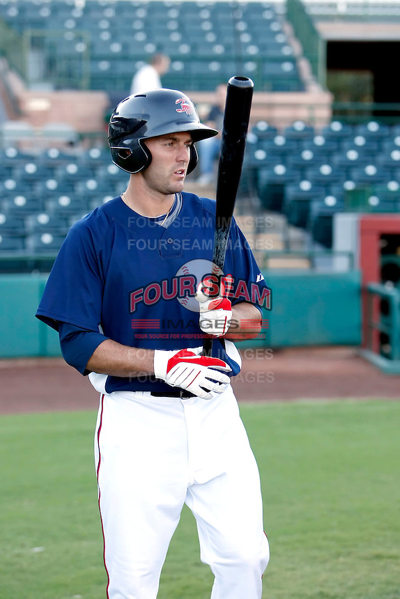Steve Lombardozzi - Scottsdale Scorpions - 2010 Arizona Fall League.Photo by:  Bill Mitchell/Four Seam Images..