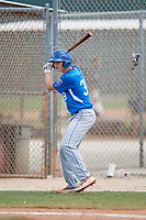 Alex Greene (38) during the WWBA World Championship at the Roger Dean Complex on October 13, 2019 in Jupiter, Florida.  Alex Greene attends Dematha Catholic High School in Edgewater, MD and is committed to Virginia.  (Mike Janes/Four Seam Images)