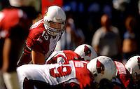 Sep 25, 2005; Seattle, WA, USA; Arizona Cardinals quarterback #13 Kurt Warner against the Seattle Seahawks at Qwest Field. Mandatory Credit: Photo By Mark J. Rebilas