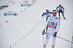 HOLMENKOLLEN, OSLO, NORWAY - March 16: Calle Halfvarsson of Sweden (SWE) after the Men 50 km mass start, free technique, at the FIS Cross Country World Cup on March 16, 2013 in Oslo, Norway. (Photo by Dirk Markgraf)