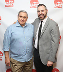 James C. Nicola and Jeremy Blocker attends the 2019 Off Broadway Alliance Awards Reception at Sardi's on June 18, 2019 in New York City.