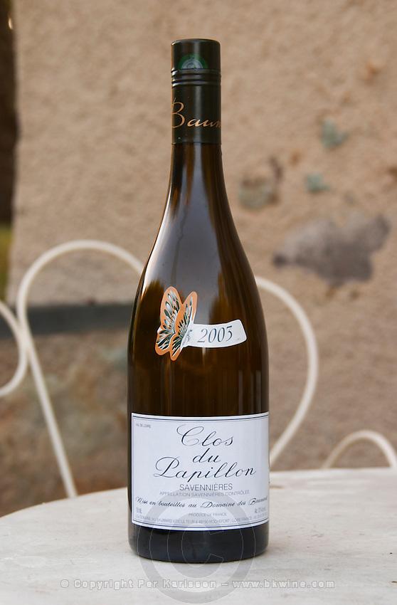 Clos du Papillon Savennieres 2003, with screwcap. Domaine des Baumard, Rochefort, Anjou, Loire, France