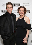 Claybourne Elder and Melissa Errico attends the Gingold Theatrical Group's Golden Shamrock Gala at 3 West Club on March 16, 2019 in New York City.