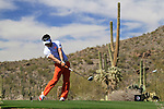 Y.E. Yang (S.KOR) in action on the 13th tee during Day 3 of the Accenture Match Play Championship from The Ritz-Carlton Golf Club, Dove Mountain, Friday 25th February 2011. (Photo Eoin Clarke/golffile.ie)