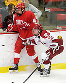 Greg Miller (Cornell - 16), Colin Moore (Harvard - 12) - The visiting Cornell University Big Red defeated the Harvard University Crimson 2-1 on Saturday, January 29, 2011, at Bright Hockey Center in Cambridge, Massachusetts.