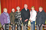 Public meeting : Attending the public meeting about the closing og beds at Listowel Hospital held at St. Patricks Hall, Listowel on Friday night last were Mary Ann O'Connor, Nora carey, Beatrice & Tim Mahoney & Kitty McElligott.