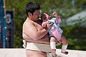 Baby Cry-Off Sumo Contest