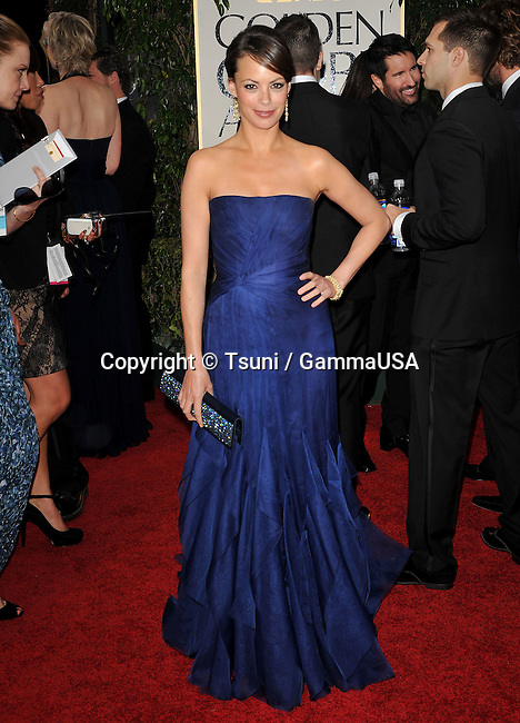 Berenice Bejo  at The 2012 Golden Globe Awards at the Beverly Hilton Hotel In Beverly Hills, CA