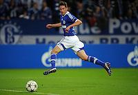 FUSSBALL   CHAMPIONS LEAGUE   SAISON 2012/2013   GRUPPENPHASE   FC Schalke 04 - Montpellier HSC                                   03.10.2012 Julian Draxler (FC Schalke 04) erzielt das Tor zum 1:1