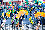at Tralee Saint Patrick's day parade on Tuesday.