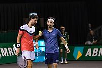 Rotterdam, The Netherlands, 9 Februari 2020, ABNAMRO World Tennis Tournament, Ahoy, Doubles: Fabio Fognini (ITA) and Robin Haase (NED).<br /> Photo: www.tennisimages.com