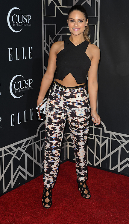Pia Mia arriving at 'ELLE 5th Annual Women In Music Concert Celebration' held at the Avalon Los Angeles, CA. April 22, 2014.