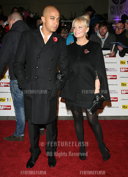 Emma Bunton and Jade Jones arriving for the 2010 Pride Of Britain Awards, at the Grosvenor House Hotel, London. 08/11/2010  Picture by: Alexandra Glen / Featureflash