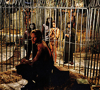 Planet of the Apes (1968) <br /> Charlton Heston, Linda Harrison &amp; Kim Hunter<br /> *Filmstill - Editorial Use Only*<br /> CAP/KFS<br /> Image supplied by Capital Pictures