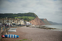 seaside start in Sidmouth<br /> <br /> 2013 Tour of Britain<br /> stage 6: Sidmouth to Haytor (Dartmorr): 137km