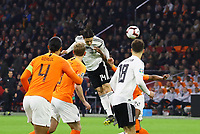 Kopfball Nico Schulz (Deutschland Germany) - 24.03.2019: Niederlande vs. Deutschland, EM-Qualifikation, Amsterdam Arena, DISCLAIMER: DFB regulations prohibit any use of photographs as image sequences and/or quasi-video.