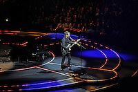 LONDON, ENGLAND - APRIL 3: Matt Bellamy of 'Muse' performing at the O2 Arena on April 3, 2016 in London, England.<br /> * Press use only. No merchandising *<br /> CAP/MAR<br /> &copy;MAR/Capital Pictures /MediaPunch ***NORTH AND SOUTH AMERICAS ONLY***