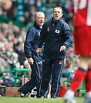 Kenny Shiels and Jimmy Nicholl