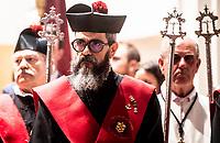 2019 04 18 Christ of Los Doctrinos_procession_Alcala de Henares