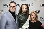 Jon Robin Baitz, Jordan Roth and Daryl Roth attends the 2019 DGF Madge Evans And Sidney Kingsley Awards at The Lambs Club on March 18, 2019 in New York City.