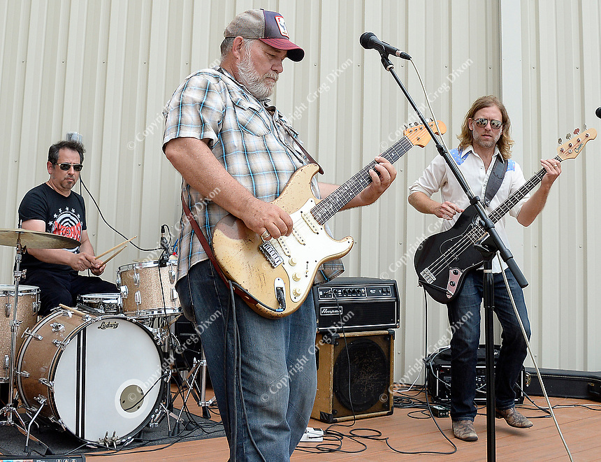 Jon Dee Graham and the Fighting Cocks entertain the crowd during Wisconsin Brewing Company's Depth Charge brew party on Sunday, July 12, 2015, in Verona, Wisconsin.
