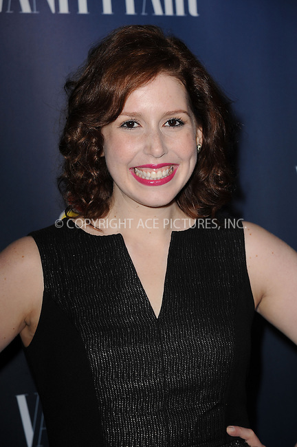 WWW.ACEPIXS.COM<br /> September 16, 2013 New York City<br /> <br /> Vanessa Bayer attending NBC's 2013 Fall Launch Party at the The Standard Hotel on September 16, 2013 in New York City.<br /> <br /> By Line: Kristin Callahan/ACE Pictures<br /> <br /> ACE Pictures, Inc.<br /> tel: 646 769 0430<br /> Email: info@acepixs.com<br /> www.acepixs.com<br /> Copyright:<br /> Kristin Callahan/ACE Pictures