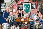 Annual BBQ: Pictured at the annual John Griffin Butchers/Billy Keane sponsored BBQ in aid if Listowel Tidy Town on Friday night last were Myra O'Shea, Fiona Flavin, Carol Strick, Collette Guerin, Vivianne Crucher, Frank McInErney, Maura O'Connell & Jean Allen.