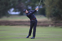 Haydn Porteous (RSA) on the 13th fairway during Round 4 of the Sky Sports British Masters at Walton Heath Golf Club in Tadworth, Surrey, England on Sunday 14th Oct 2018.<br /> Picture:  Thos Caffrey | Golffile