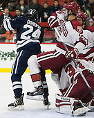 Mike Doherty (Yale - 24), Wiley Sherman (Harvard - 25), Steve Michalek (Harvard - 34) - The visiting Yale University Bulldogs defeated the Harvard University Crimson 2-1 (EN) on Saturday, November 15, 2014, at Bright-Landry Hockey Center in Cambridge, Massachusetts.
