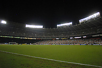 RFK Stadium during the game. DC United defeated the Los Angeles Galaxy 1-0 at RFK Stadium in Washington DC, Thursday August 9, 2007.