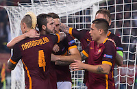 20151104 ROMA-CALCIO: CHAMPIONS LEAGUE - LA ROMA BATTE IL BAYER LEVERKUSEN