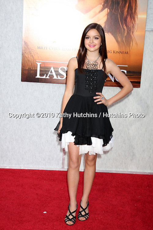 "Ariel Winter.arrives at  ""The Last Song"" World Premiere.ArcLight Theaters.Los Angeles, CA.March 25, 2010.©2010 Kathy Hutchins / Hutchins Photo...."