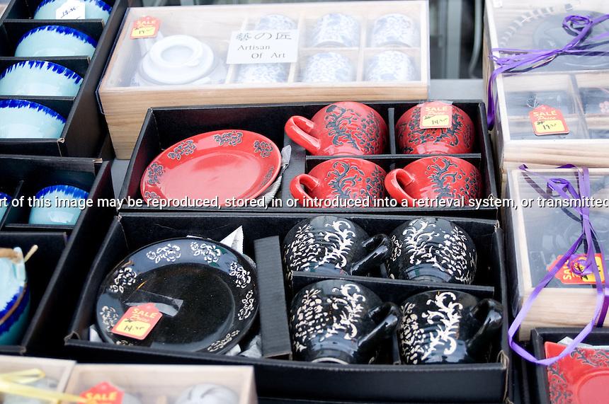 Mugs for sale on Queen Street Toronto Ontario Canada