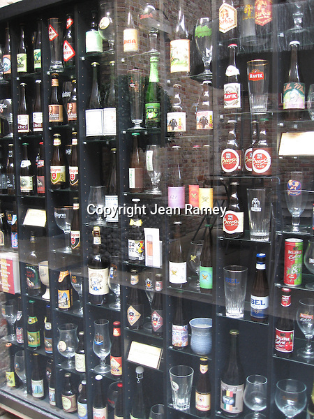 Belgium is know for hundreds of beers, each served in a glass designed to enhance the brewers beer