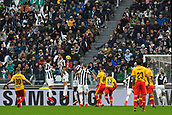 5th November 2017, Allianz Stadium, Turin, Italy; Serie A football, Juventus versus Benevento; Amato Ciciretti scores the opening goal for 0-1 for Benevento from a free kick