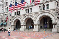 Entrance to the Old Post Office in Washington DC