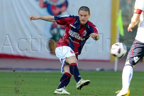 Diego Perez (Bologna), MARCH 6, 2011 - Football : Italian  Series A  match between Bologna 2-2 Cagliari at Renato Dall'Ara Stadium in Bologna, Italy.